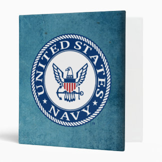 U.S. Navy | Navy Alt Emblem 3 Ring Binder