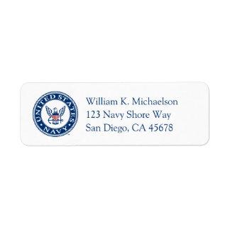 U.S. Navy | Navy Alt Emblem Label