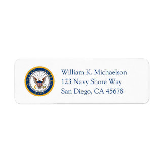 U.S. Navy | Navy Emblem Label