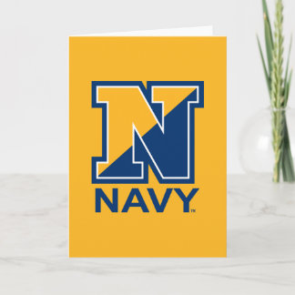 U.S. Navy | Navy Initial N Note Card