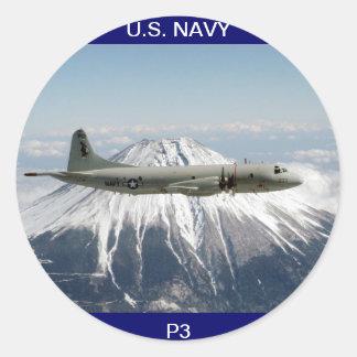 U.S. Navy P3 Aircraft Sticker