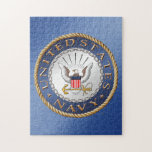"""U.S. Navy Puzzle<br><div class=""""desc"""">Show your pride in the U.S. Navy. Designed by a veteran.</div>"""