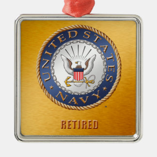 U.S. Navy Retired Ceramic Ornament