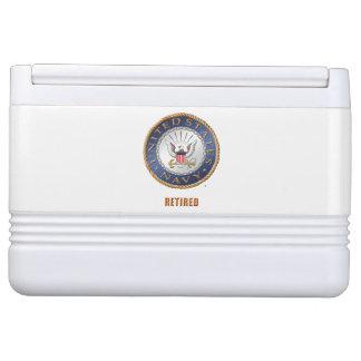 U.S. Navy Retired Igloo Can Cooler