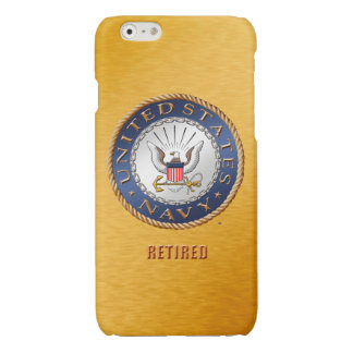 U.S. Navy Retired iPhone Cases