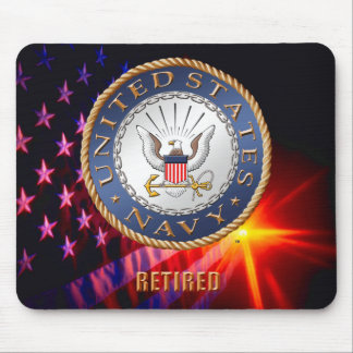 U.S. Navy Retired Mousepad