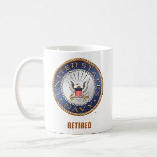 U.S. Navy Retired Mug
