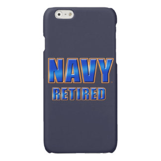 U.S. Navy Retired Savvy iPhone 6/6s Glossy Case