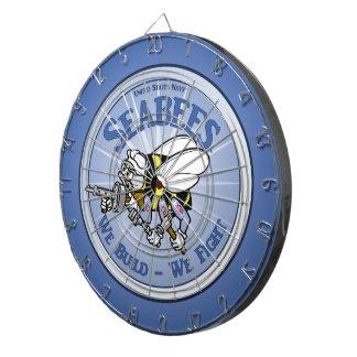 U.S. Navy Seabee Dart Board