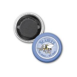U.S. Navy Seabee Magnet