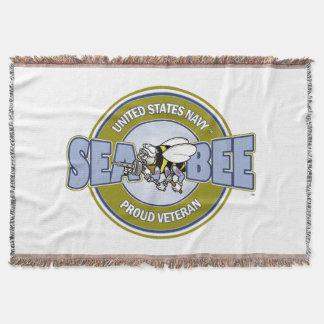 U.S. Navy Seabee Throw