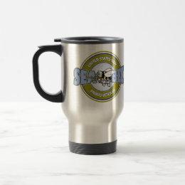 U.S. Navy Seabee Travel Mug