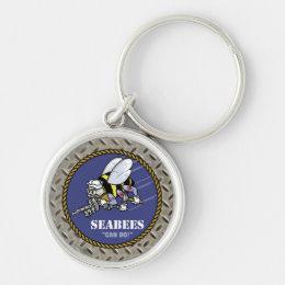 U.S. Navy | Seabees Keychain