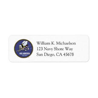 U.S. Navy | Seabees Label