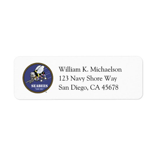 Seabees Label