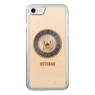 U.S. Navy Veteran iPhone & Samsung Wood Cases
