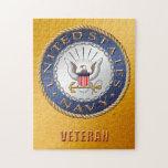 "U.S. Navy Veteran Puzzle<br><div class=""desc"">Show your pride in the U.S. Navy. Designed by a veteran.</div>"