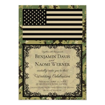 U.S. Navy Wedding Invitations