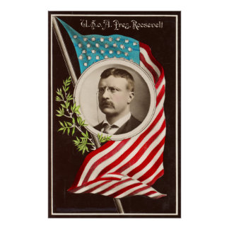 U. S. o[f] A., Pres. Roosevelt [1907] Poster