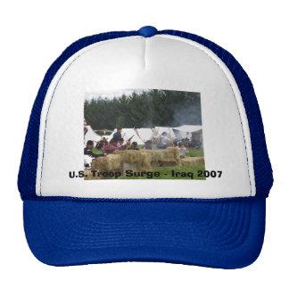 U.S. Oleada de la tropa - Iraq 2007 Gorros Bordados
