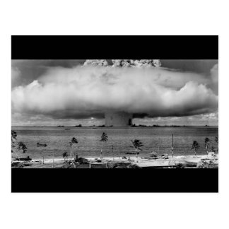 U.S. Operation Crossroads The Baker Explosion Postcard
