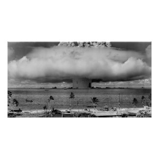 U.S. Operation Crossroads The Baker Explosion Print