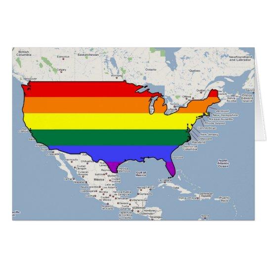 U.S. Orgullo de GLBT Tarjeta De Felicitación