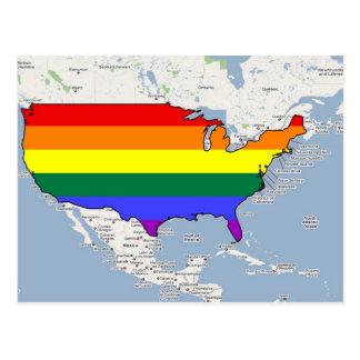 U.S. Orgullo de GLBT Tarjetas Postales