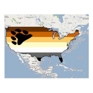 U.S. Orgullo del oso Postales