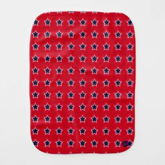 U.S. Patriotic Celebration of National Holidays Baby Burp Cloth