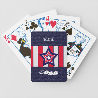 U.S. Patriotic Celebration of National Holidays Bicycle Playing Cards