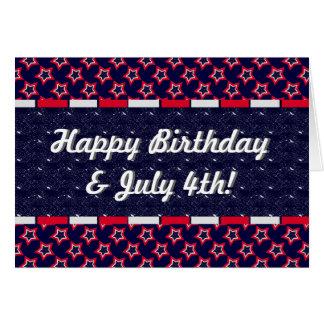 U.S. Patriotic Celebration of National Holidays Card