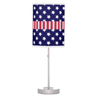 U.S. Patriotic Celebration of National Holidays Desk Lamp