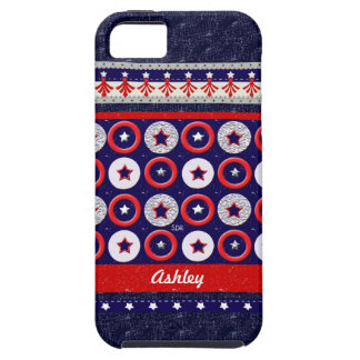 U.S. Patriotic Celebration of National Holidays iPhone SE/5/5s Case