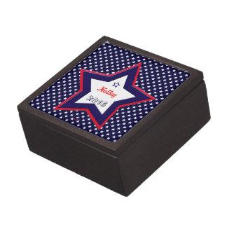 U.S. Patriotic Celebration of National Holidays Jewelry Box