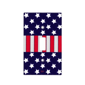 U.S. Patriotic Celebration of National Holidays Light Switch Cover