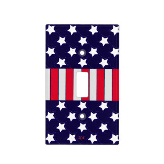 U.S. Patriotic Celebration of National Holidays Light Switch Plates