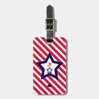 U.S. Patriotic Celebration of National Holidays Luggage Tag
