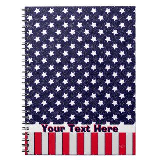 U.S. Patriotic Celebration of National Holidays Notebook