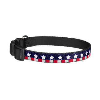 U.S. Patriotic Celebration of National Holidays Pet Collar