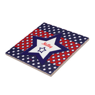 U.S. Patriotic Celebration of National Holidays Tile