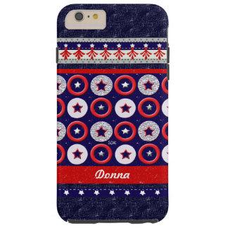 U.S. Patriotic Celebration of National Holidays Tough iPhone 6 Plus Case