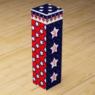 U.S. Patriotic Celebration of National Holidays Wine Box