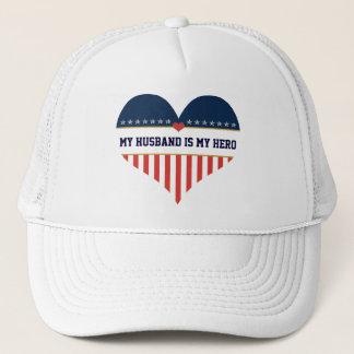 U.S. Patriotic - My Husband is My Hero Hat