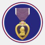 U.S. Pegatina militar de la medalla de Purple