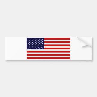 U.S. Pegatinas para el parachoques de la bandera Etiqueta De Parachoque