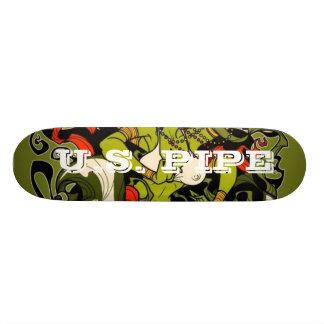 U.S. Pipe Skateboard