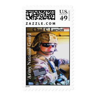U.S.Postage que honra República eo Tchad C Larsen Envio