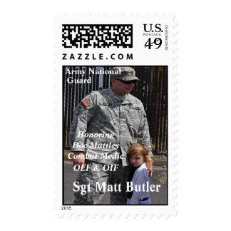 U S Postage Stamp Honoring Butler
