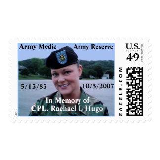 U S Postage Stamp Honoring Hugo